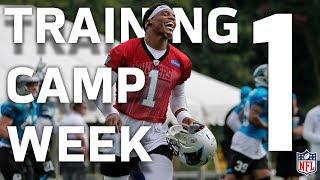 Best of 2017 Training Camp Week 1! | NFL