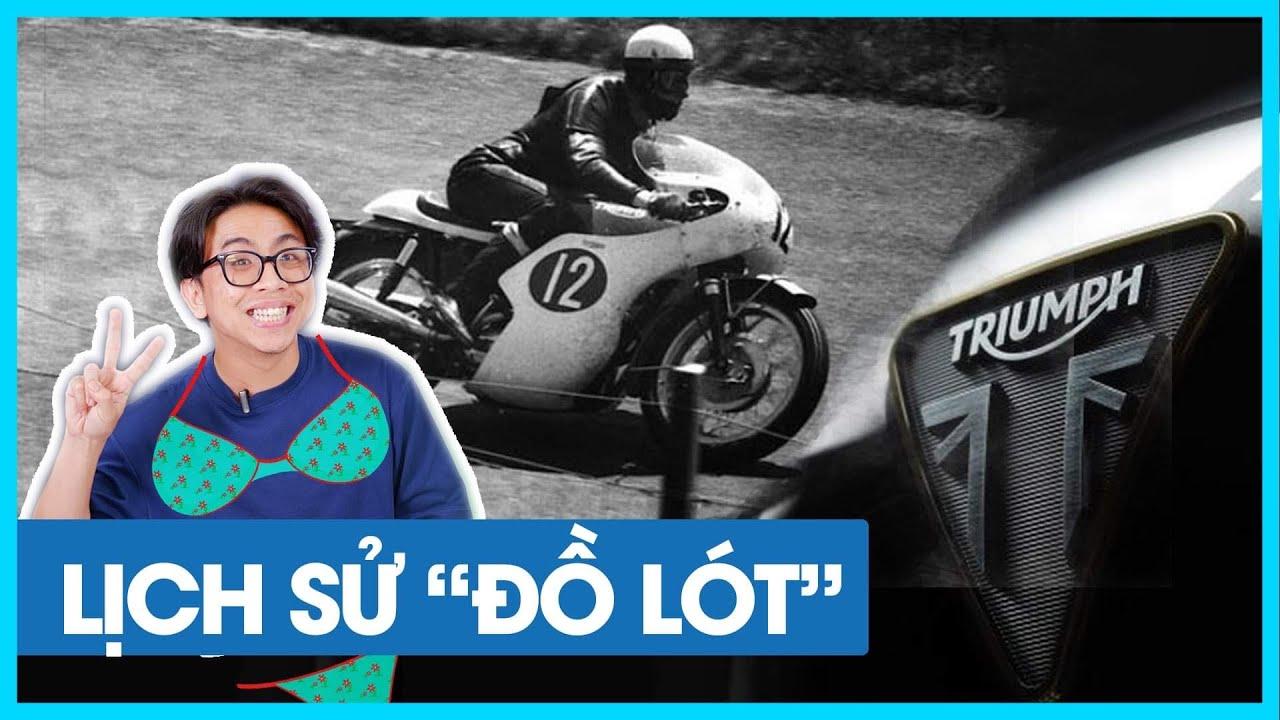 Lịch sử Triumph Motocycle: nguồn gốc từ Đức, từng nổi tiếng vì xe chạy quá nhanh! | Đường 2 Chiều.