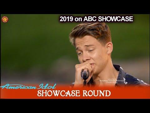 "Logan Johnson Spanish ""Sorry"" By Justin Bieber Enough For Top 20?| American Idol 2019 SHOWCASE Round"