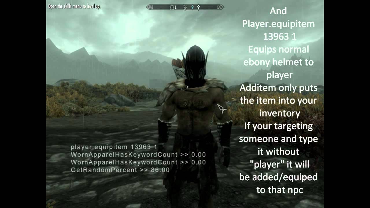 How to find most of skyrim's npc and item id's ( and some other ...