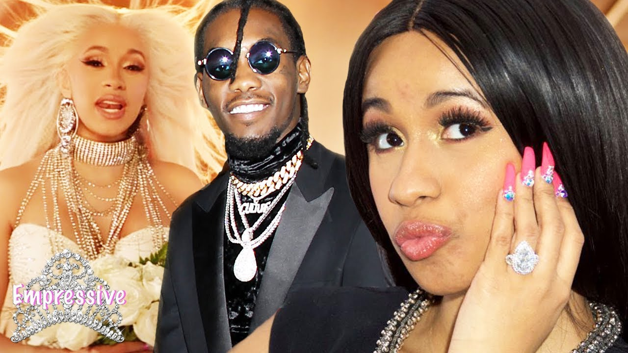Is Cardi B Engaged To Offset From Migos: Cardi B's Secret Marriage To Offset Is Exposed! (Proof