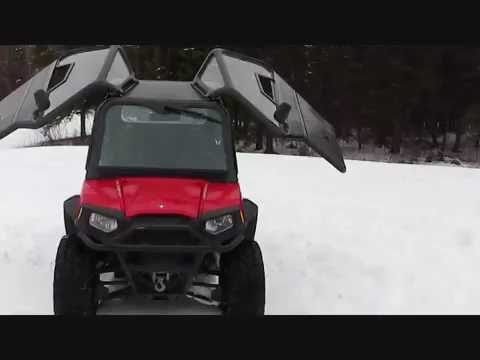 2011 Polaris Rzr Cab With Gull Wing Doors Youtube