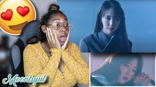 """MOONBYUL OF MAMAMOO """"ABSENCE"""" MV REACTION