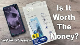 Samsung Galaxy S20 Plus Whitestone Dome Glass - Install and Review