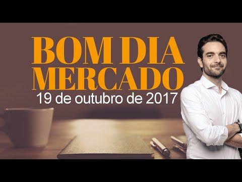 🔴 Bom Dia Mercado - 19 de Outubro de 2017