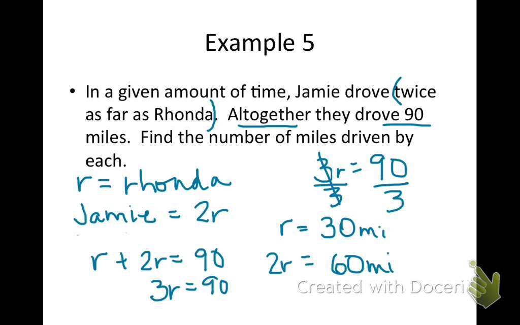two step time word problems