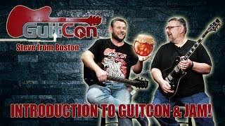 Steve from Boston Jam at Guitcon 2018