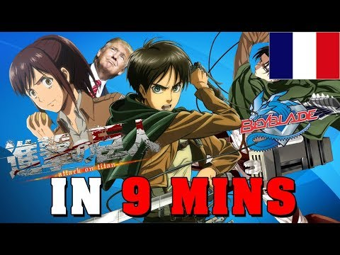 The Attack of the Titans (S1) IN 9 MINUTES - GIGGUK FR - RE: TAKE