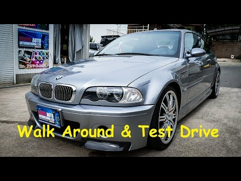 2003 BMW E46 M3 CSL   Japan Car Auction Purchase