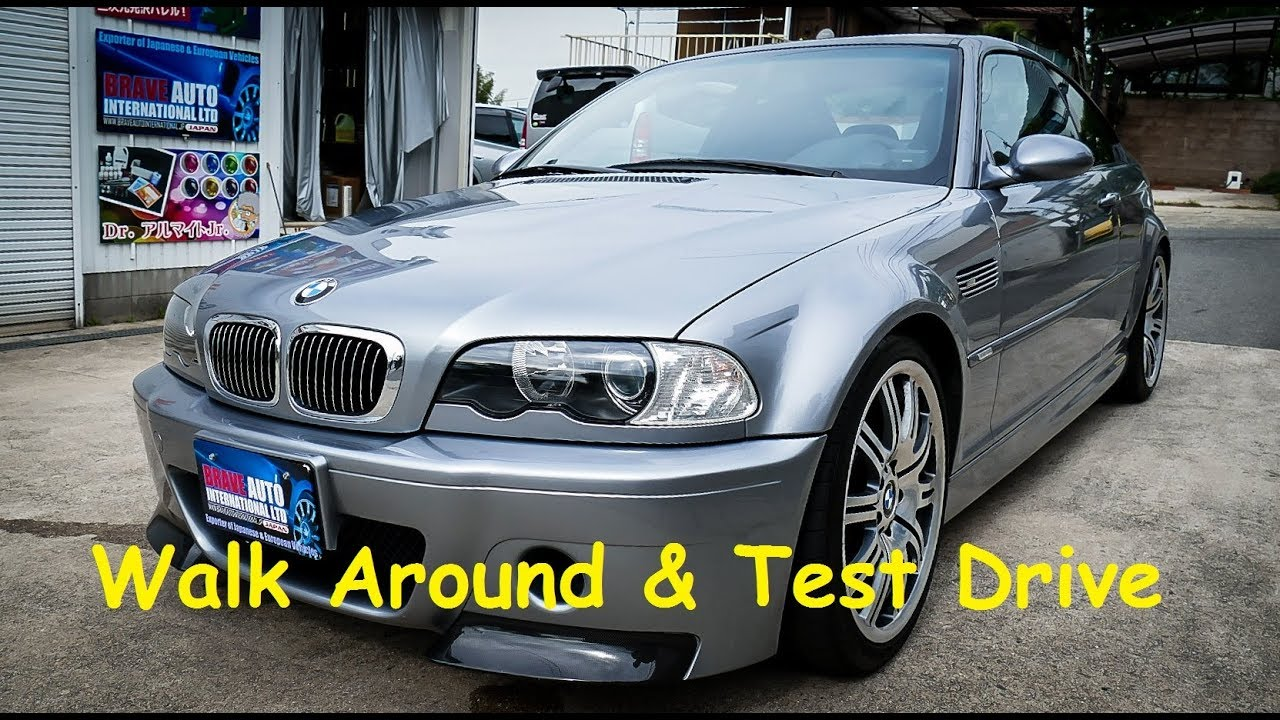 2003 BMW E46 M3 CSL   Japan Car Auction Purchase - YouTube