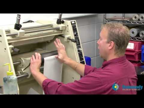 Flexographic Printing Part 1- Plate Mounting (Shawn Oetjen)