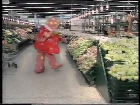 Mr Blobby Goes Shopping