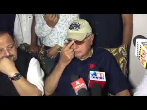 Farooq Abdullah on Kathua Case
