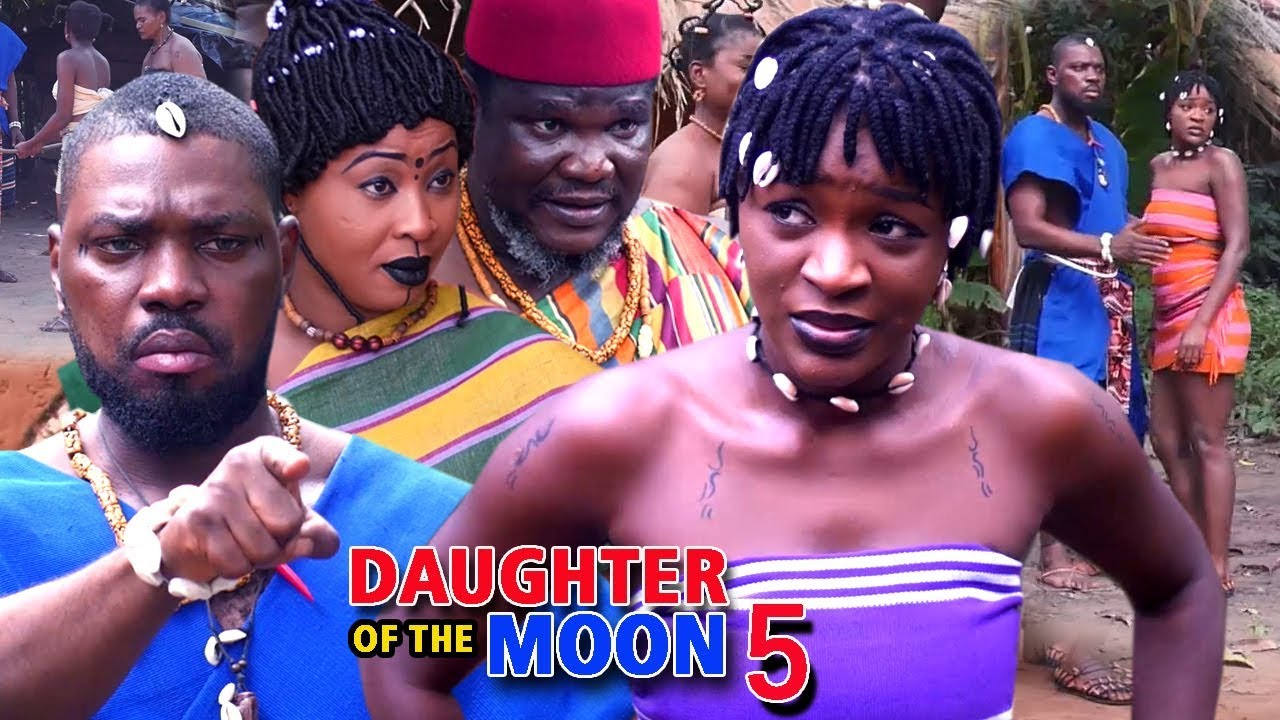 Download Daughter Of The Moon Season 5 - (New Movie) 2018 Latest Nigerian Nollywood Movie Full HD   1080p