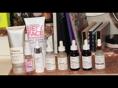 Updated Skincare Routine The Ordinary, Lagunamoon, Formula 10.0.6, Clean & Clear