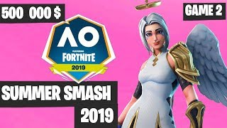 Fortnite Summer Smash Game 2 Highlights - Fortnite Australian Open [Fortnite Tournament 2019]