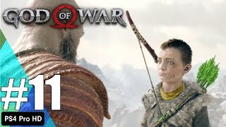 God Of War Gameplay Part 11 - SEARCHING FOR LIGHT