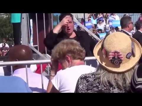 Hillary Clinton @ Tampa Curtis Hixon WaterFront Park