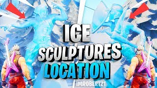 Fortnite Location Ice Sculptures Skins Secret Easter Egg