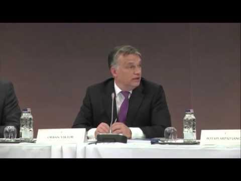 Orbán Viktor  a Magyar Diaszpóra Tanács V  ülésén