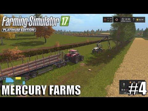 FORESTRY   Mercury Farms   Timelapse #4   Farming Simulator 17 thumbnail