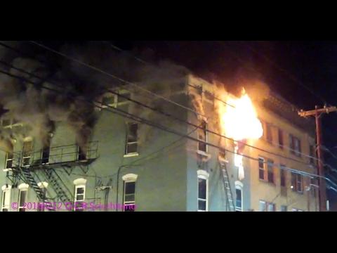 20170212 2nd Alarm Apartment Building Fire Shamokin