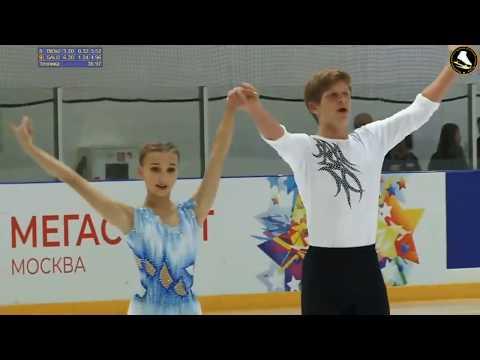 Anastasia Metelkina/Daniil Shvetsov, LP, 2019.09.03 Moscow Junior Championships