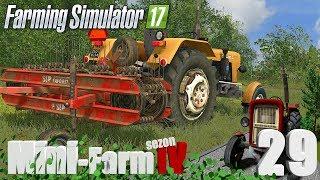 """Farming Simulator 17 Mini-Farm #29 - """"Przewracanie i zgrabianie siana"""""""