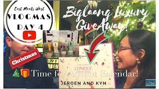 🎄VLOGMAS Day 4️⃣ | Mini High End GIVEAWAY | CLINIQUE RAFFLE GIVEAWAY (CLOSE) | 24 Days of Clinique