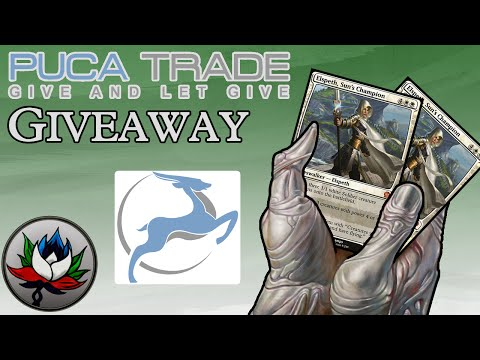PucaTrade Vlog And Giveaway: Win Free Planeswalkers!