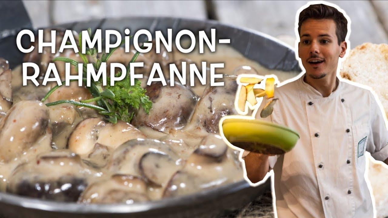 Vegane Champignon-Rahmpfanne  • Ernährungswissenschaftlich optimiert