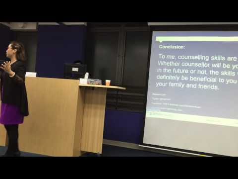 My alumnus sharing at Monash Uni's Master of Counselling program (offshore in Hong Kong; Part V)