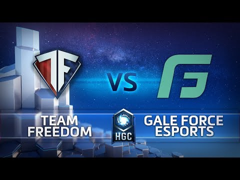 Gale Force eSports vs  Team Freedom vod