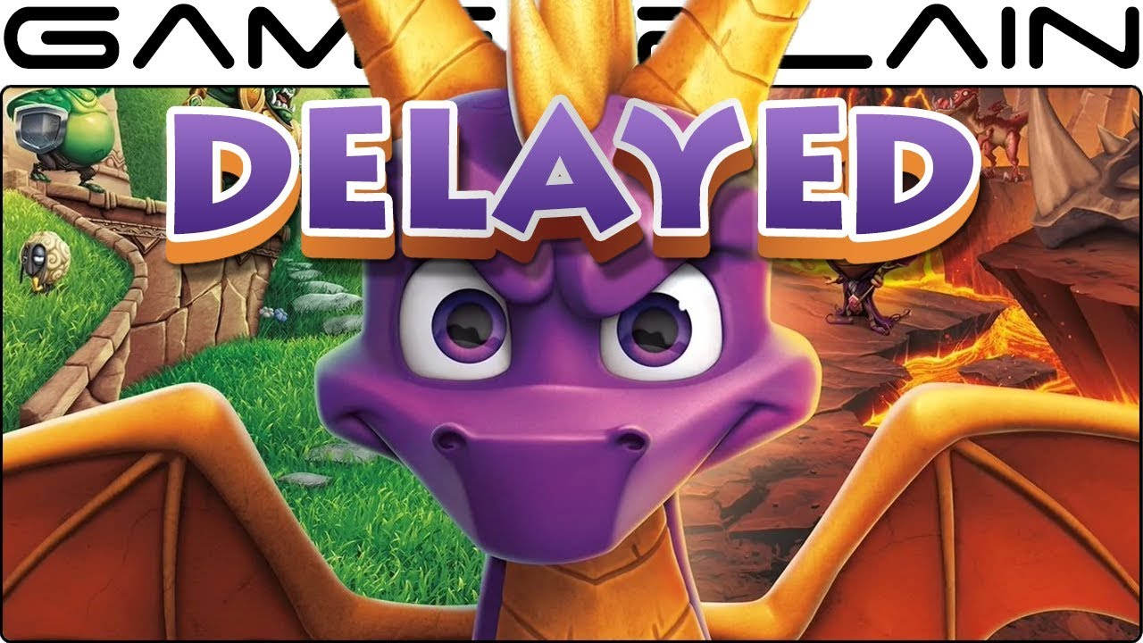 Spyro Reignited Trilogy Release Date Delayed to November