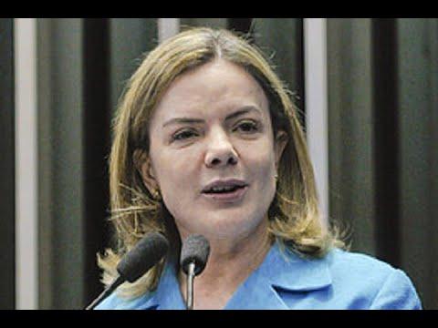 """Gleisi Hoffmann: """"A corrupção não pode ser objeto ou desculpa para a perseguição política"""""""