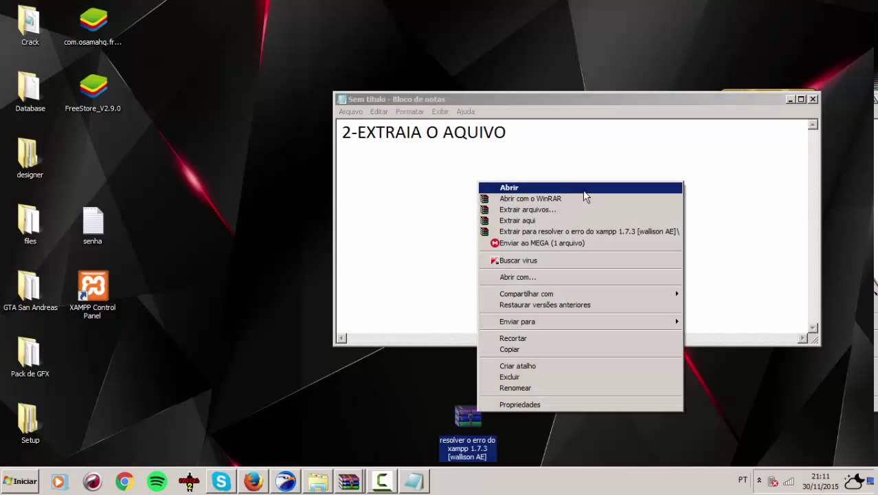 WINDOWS 1.7.3 POUR TÉLÉCHARGER XAMPP