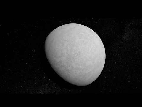 Как образовалась луна