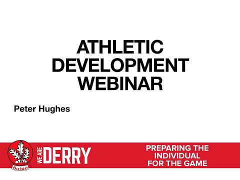 Athletic Development Webinar
