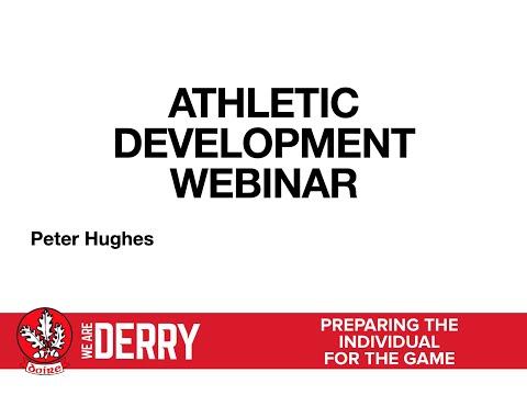 Athletic Development Webinar