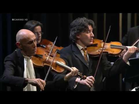 Vivaldi Concerto for 4 violins in B minor, RV 580 Il Giardino Armonico
