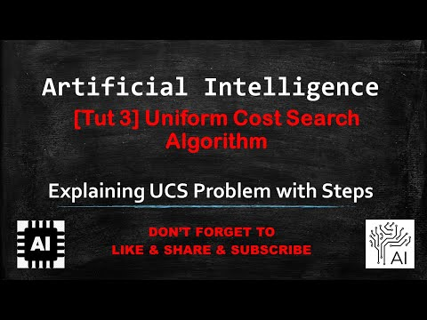 3 - Uniform Cost Search Algorithm
