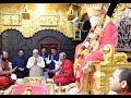 PM Shri Narendra Modi visits Sai Baba Temple in Shirdi, Maharashtra : 19.10.2018