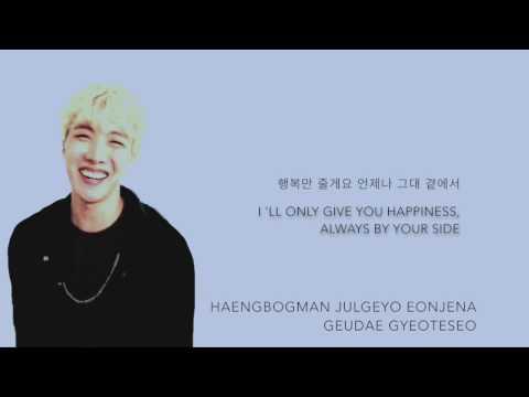 BTS J-Hope - 'Proposal (청혼)' (Cover) [Han|Rom|Eng lyrics]