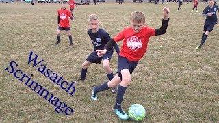 Wasatch JS vs Wasatch SD - U11/U12 scrimmage soccer