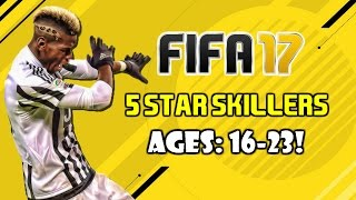 FIFA 17: BEST YOUNG 5 STAR SKILLERS (16-23)