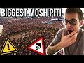 Hip-Hop Head Reacts to the GREATEST MOSHPIT EVER!!