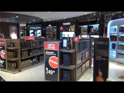 Dreamstore Winner Spirits & Wines 2012; DFS Group; Singapore Changi Airport
