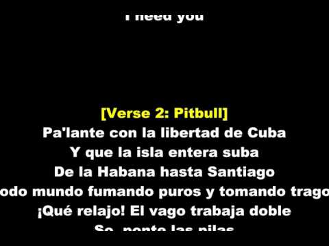 Lyrics - Pitbull and J Balvin - Hey Ma (feat. Camila Cabello)