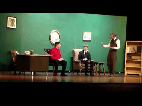 2018  North Polk High School   A Witness for the Prosecution