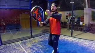 Padel Tennis - How to Serve